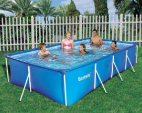 Piscinas e hinchables bestway for Piscinas rectangulares desmontables con depuradora